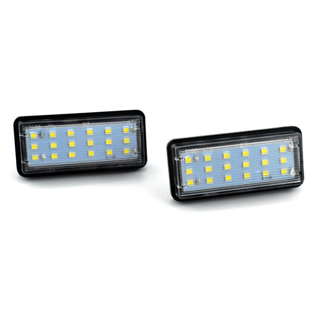 Car Styling No Error LED Rear Number Plate Light Auto License Lamp for <font><b>Lexus</b></font> LX470 <font><b>GX470</b></font> Toyota Land Cruiser Reiz <font><b>Accessories</b></font> image