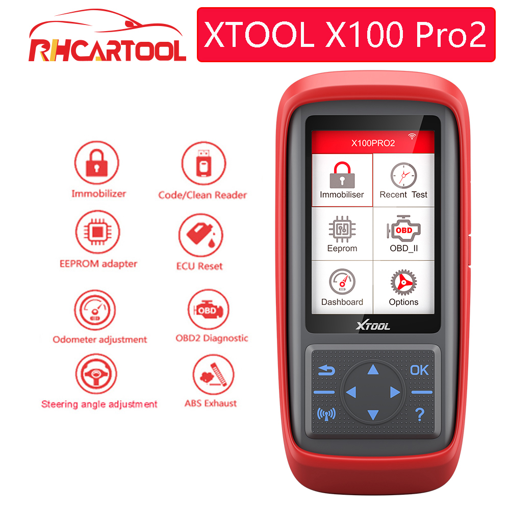 Original XTOOL X100 Pro2 Auto Programme Reset ECM With EEPROM Mileage Adjustment