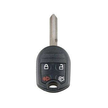 Voiture Smart télécommande clé 4 boutons voiture clé Fob Fit pour 2010 2011 2012 2013 2014 Ford Mustang 315Mhz Cwtwb1U793