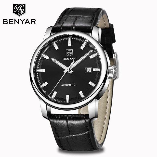 2020 New BENYAR Men's Mechanical Watches Automatic Mens watches Top Brand Luxury watch men WristWatch Military Relogio Masculino 8
