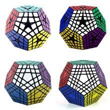Shengshou cubo mágico quebra-cabeça sengso cubo mágico 2x2 3x3 4x4 5x5 6x6 7x7 dodecaedro megaminxeds masterkilomin elite kilominx