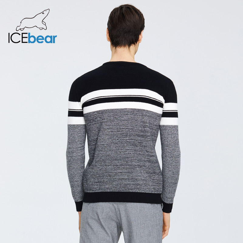 ICEbear 2020 Spring New Male Sweater Casual Men's Pullover Brand Men's Clothing  1723 2