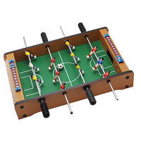 Table Footbal Foosball Family Set Soccer Game Entertainment for Sports Lover