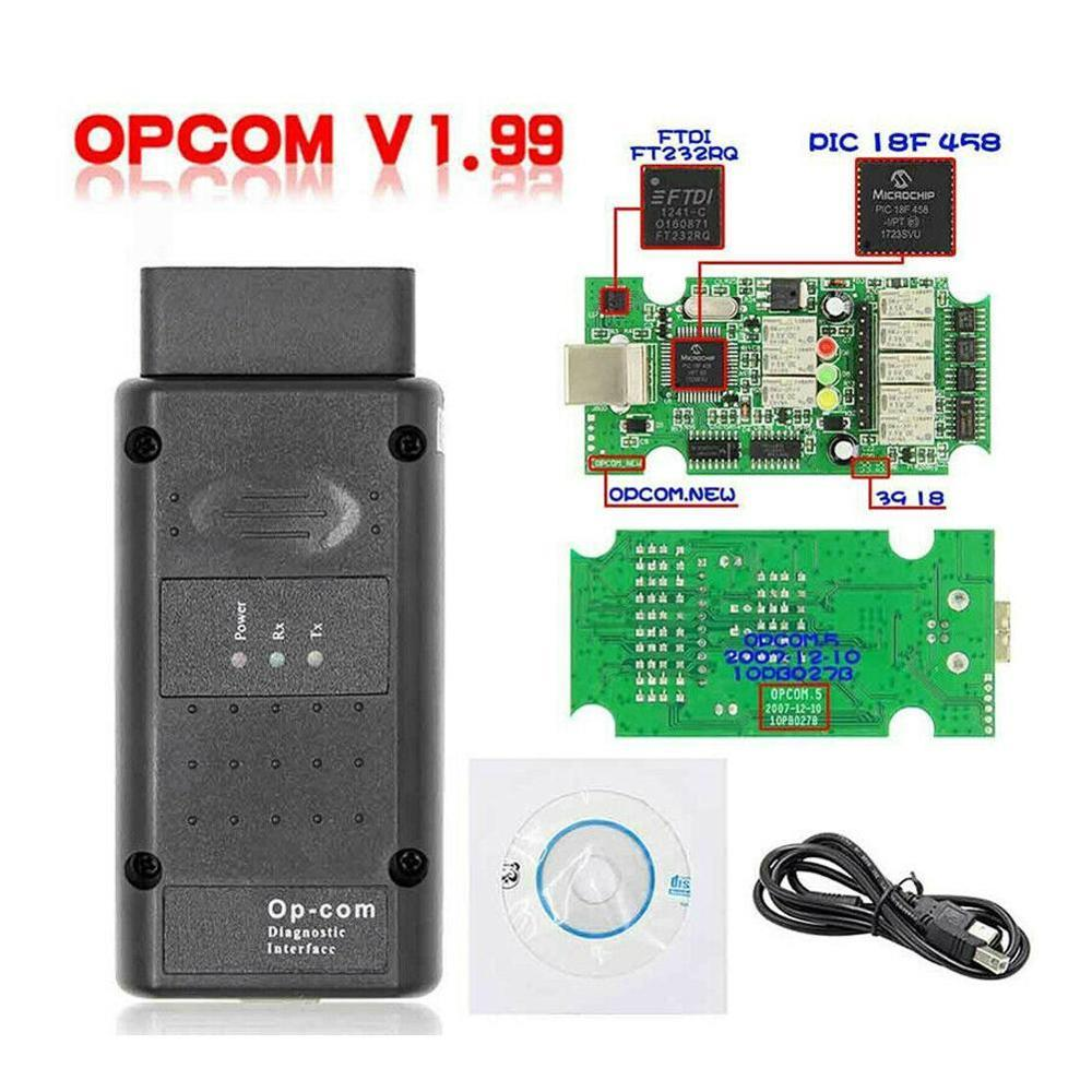 NEW 2019 OPCOM 1.65 1.70 V1.78 1.95 <font><b>1.99</b></font> For Opel Diagnostic Scanner <font><b>OP</b></font> <font><b>COM</b></font> V1.59 CANBUS <font><b>OP</b></font>-<font><b>COM</b></font> OBD2 super scanner free shipping image