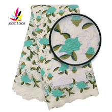 Embroidered Tulle Fabric Embroidered Lace Nigerian 2020 French Glitter Mesh Embroidered High End Quality New Hot Sale embroidered mesh insert tee