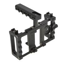 Aluminium Alloy Handheld Rabbit Cage Stabilizer Mount Camera Accessories Camera head Mobile phone head
