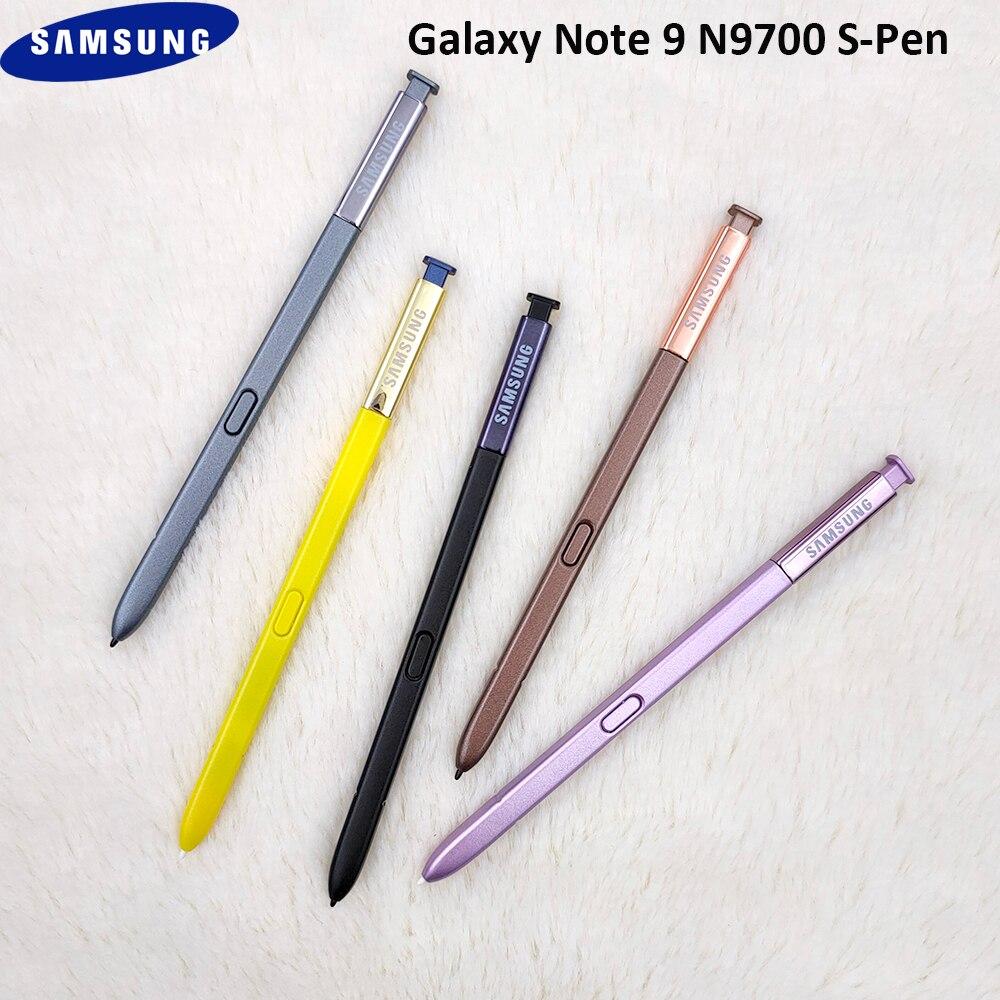 Стилус S-pen для сенсорного экрана Samsung Galaxy Note 9 N9600 Многофункциональный ручной карандаш с логотипом без Bluetooth