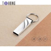 quality usb flash drive pen drive16GB  32GB to 2TB waterproof Metal Key pendrive Card Memory Stick Drives u disk