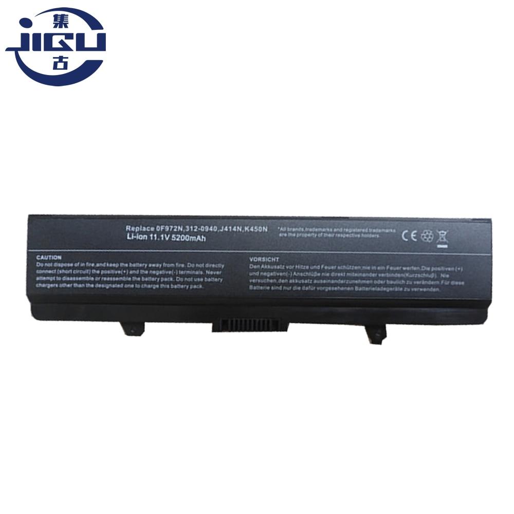 JIGU 4400MAH Laptop Battery For Dell Inspiron 1750 0F972N J414N K450N 312-0940 11.1V 6Cells