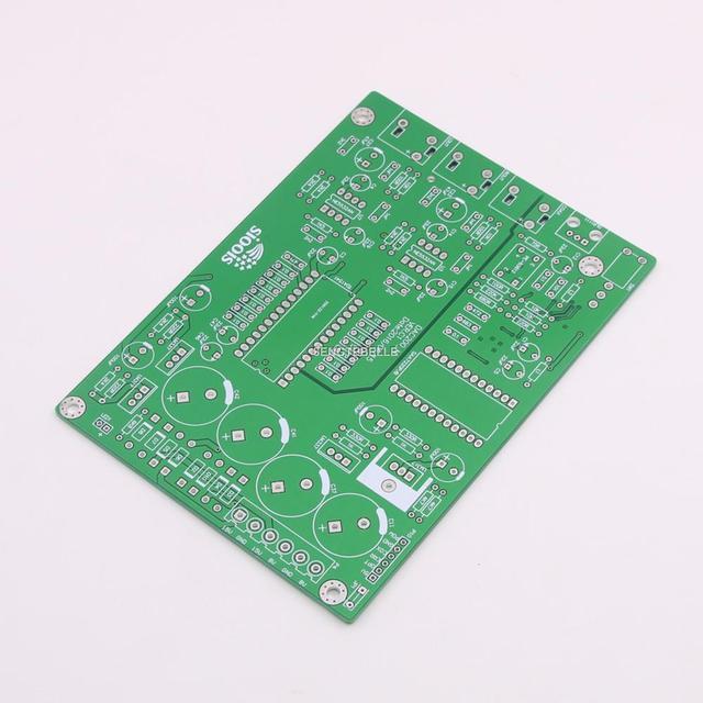 ออกแบบใหม่ TDA1541 DAC ถอดรหัส DIY Bard PCB