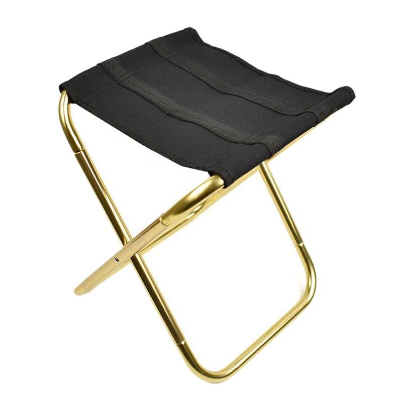 Spor ve Eğlence'ten Dış Mekan Aletleri'de 1 adet hafif açık balıkçılık sandalye Kamp taşınabilir katlanır sandalye Oxford kumaş katlanabilir piknik sandalye çanta ile Kamp Kamp Sandalyesi title=