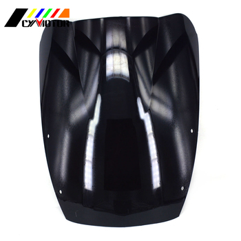 Motorcycle Black Windshield Fairing Windscreen For SUZUKI Katana GSX600F GSX750F GSXF 600 750 1987 1988 1989 1990 1991 92 93-97 image