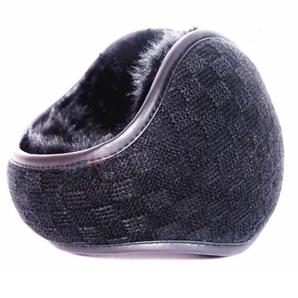 Winter Earmuffs Warm Men Folded Plush Ear Muffs Ear Wrap Covering orejeras de invierno (3)