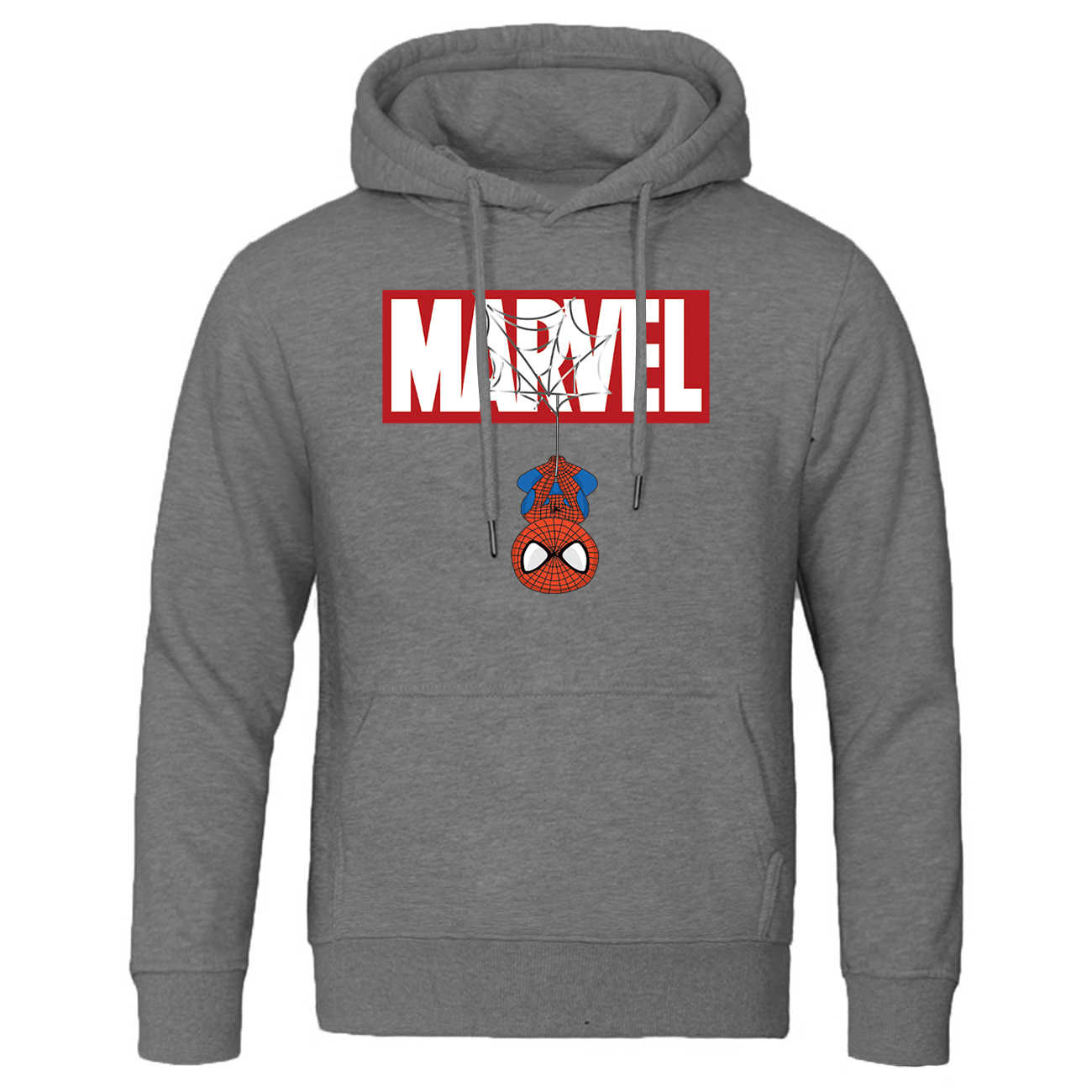 Men fashion marvel Spiderman printed jackets slim fit fleece coats sweatshirts spring autumn  casual trend man tracksuit clothes