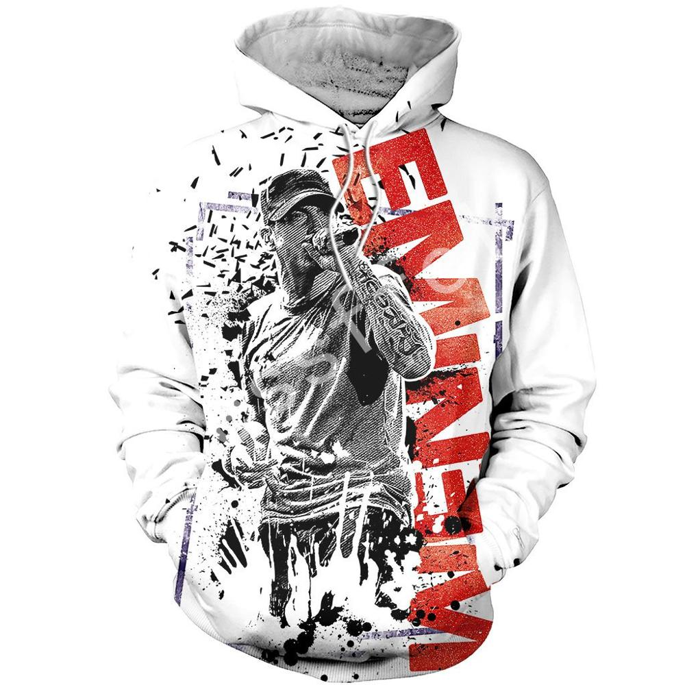Tessffel Eminem New Fashion Harajuku RapGod  3D Printed Hoodie/Sweatshirt/Jacket/ Mens Womens Hiphop Funny Animal Style-3
