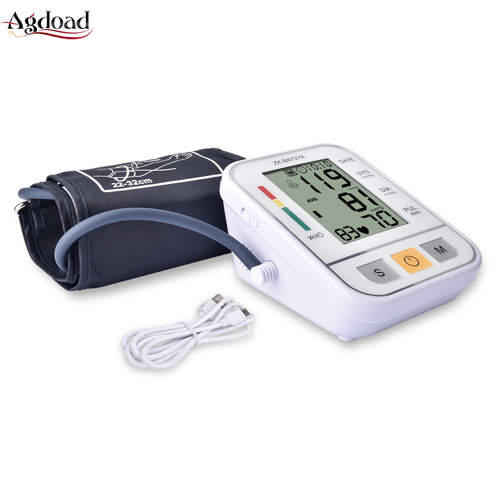 Medical-Equipment Arm-Blood-Pressure-Monitor Pulse-Sphygmomanometer Health-Care Digital