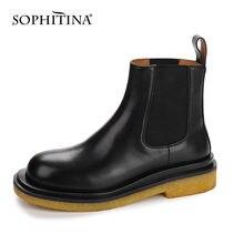 Sophitina/женские ботинки; Модные высококачественные женские