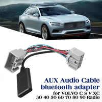 Auto Audio Empfänger AUX IN Bluetooth Adapter für Volvo C30 C70 S40 S60 S70 S80 V40 V50 V70 XC70 XC90 empfänger Adapter