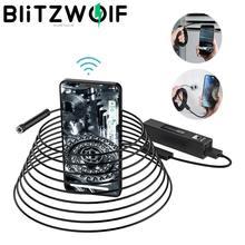 Camera Borescope Snake-Inspection BW-YPC110 Blitzwolf Led-Lights Smart-Phone Wifi Android