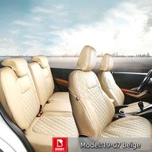 BOOST עבור מיצובישי Delica 2012 Cvw5 רכב מושב כיסוי מלא סט 7 מושבי ימין הגה נהיגה