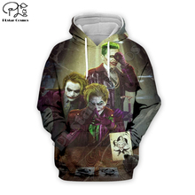 PLstar Cosmos Hot movie Joker Joaquin Phoenix Colorful Harajuku Tracksuit 3D Print Hoodie/Sweatshirt/Jacket/shirts Men Women s-1