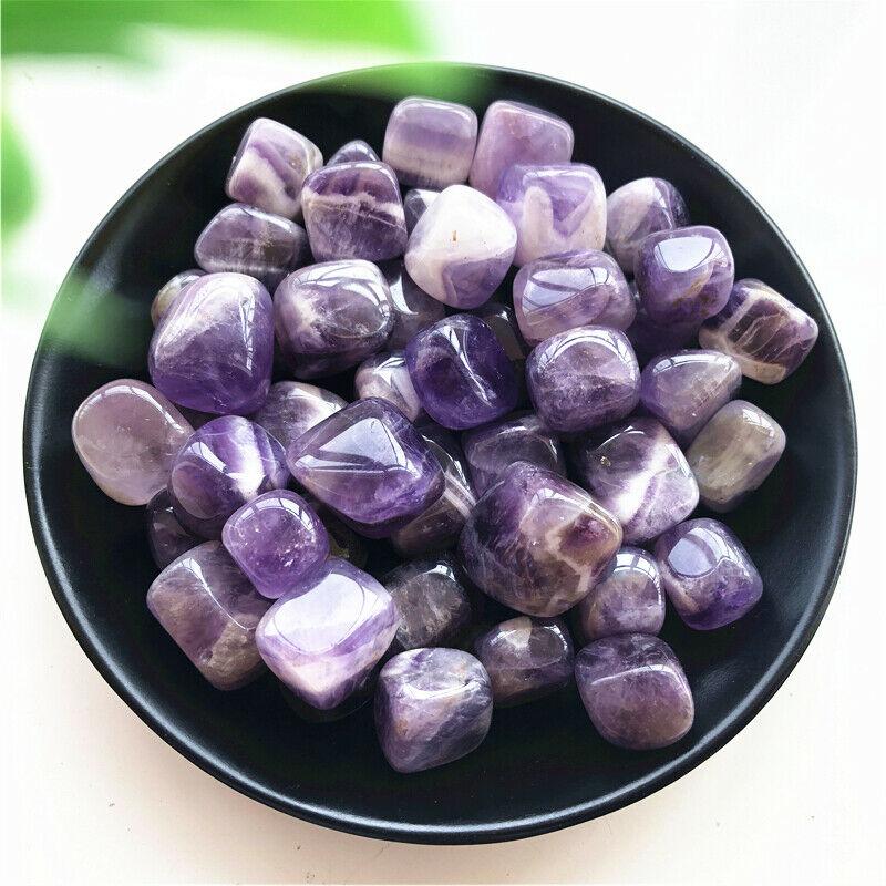 50g Natural Dream Amethyst Crystal Stones Bulk Tumbled Gem Stone Healing Decoration Natural Stones And Minerals