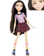 1/6 ตุ๊กตาสาว 3Dสีเขียวดวงตาสวยผู้หญิงหญิงเสื้อผ้าตุ๊กตาของเล่น