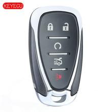 KEYECU clé télécommande intelligente, ID46, 315MHz, 433MHz, pour voiture Chevrolet Cruze, Malibu, Camaro FCC: HYQ4EA ,HYQ4AA P/N:13508769