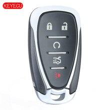 Keyecu Thông Minh Phím Remote 315Mhz 433Mhz ID46 Cho Xe Chevrolet Cruze Malibu Camaro FCC: HYQ4EA ,HYQ4AA P/N:13508769