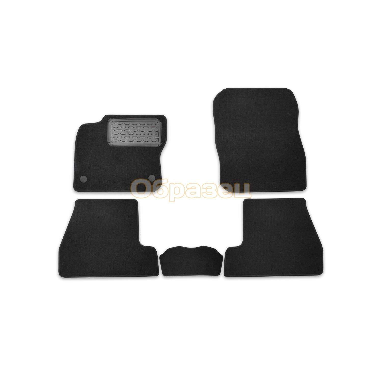 Floor mats Renault Logan 2014 > gray. 5 PCs (textiles) (Renault Logan)|Floor Mats| |  - title=