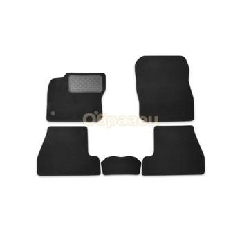 Floor mats Toyota HiLux double cab automatic 2012-> peak. 5 PCs (T