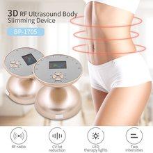 LED ultradźwiękowy kawitacja RF maszyna wyszczuplająca do ciała Fat Burner częstotliwość radiowa anty cellulit ultradźwięki twarzy dokręcić masażer