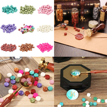 100pcs/lot Wax Stamp Vintage Wax Seal Stamp Tablet Pill Bead