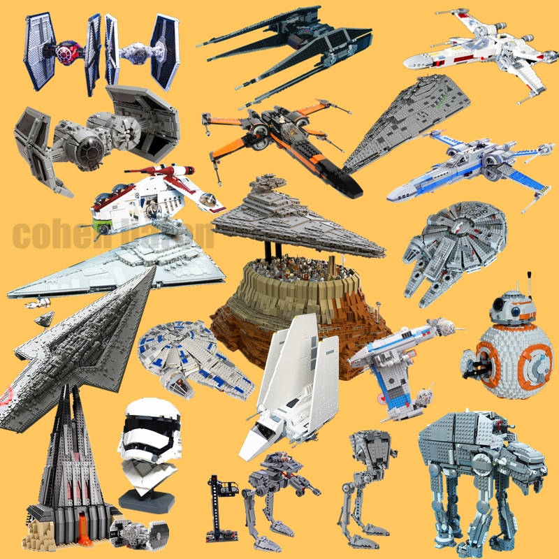 New STAR Sky SERIES First Order Walker Fighter Falcon Fit Legoings Star Wars Figures MOC Building Block Bricks Gift Kid Toy image