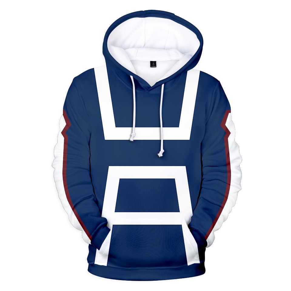 Anime Mein Hero Wissenschaft Cosplay Kostüme Mit Kapuze Hoodies Männer Frauen Sweatshirts Pullover Trainingsanzüge Bakugo Katsuki Jungen Mädchen Tuch