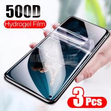 3 sztuk folia ochronna hydrożel Film dla Huawei Honor widok 30 20 Pro 20S folia ochronna dla Huawei Honor 8X 9X Pro nie szkło tanie tanio MAOSHENG LEE Przedni Film Honor 30 Honor 30pro HONOR 30 PRO + Explotion odporne na