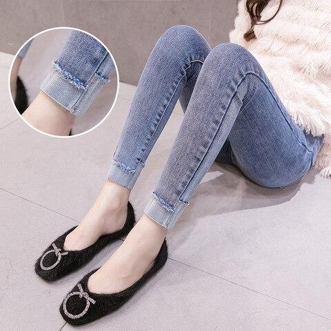 leggings gravidez jeans casual calcas calcas