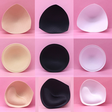 цена Sponge Inserts Bra Padded Accessories for Women Swimsuit Breast Push Up Breast Enhancer Removable Bra Pads Intimates Accessories