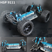 HSP 1/10 RC big foot truck 94111PRO KIT version Brushless Professional off road crawler Electric truck chassis frame base|Parts & Accessories| |  -