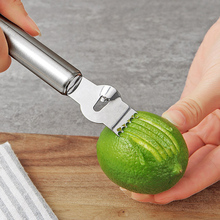 Lemon Peeler Stainless Steel Lemon Zester Grater Lime Orange Citrus Fruit Grater Peeling Knife Kitchen Gadgets Bar Accessories