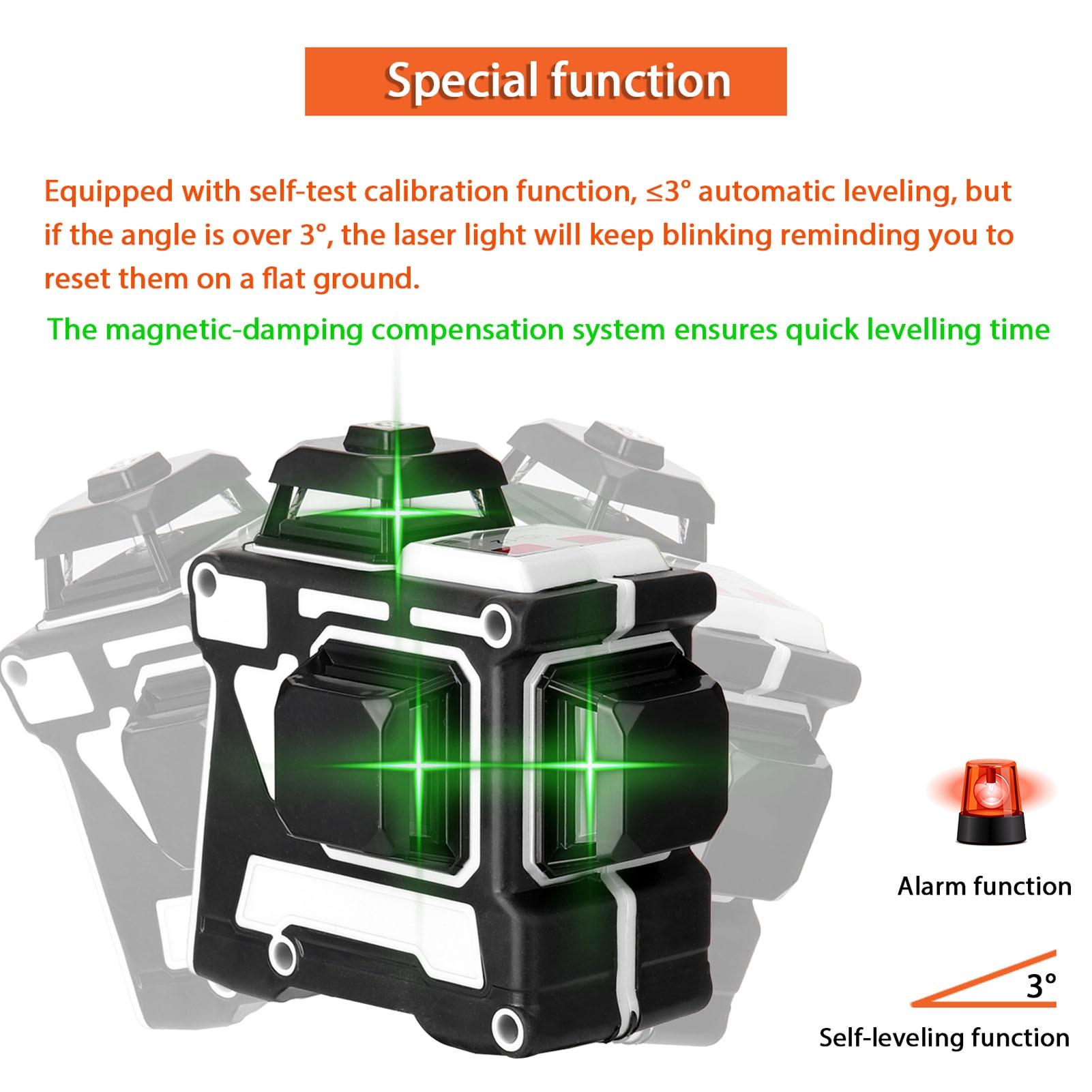 laser ferramenta vertical linhas horizontais com função