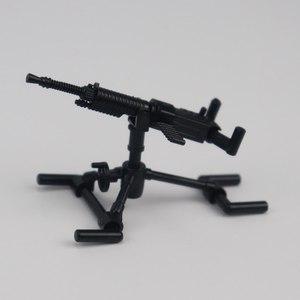 Image 5 - Military Solider Kits Model Toy For Children Building Blocks Toys & Hobbies WW2 Kids Machine Guns Military Weapons Army