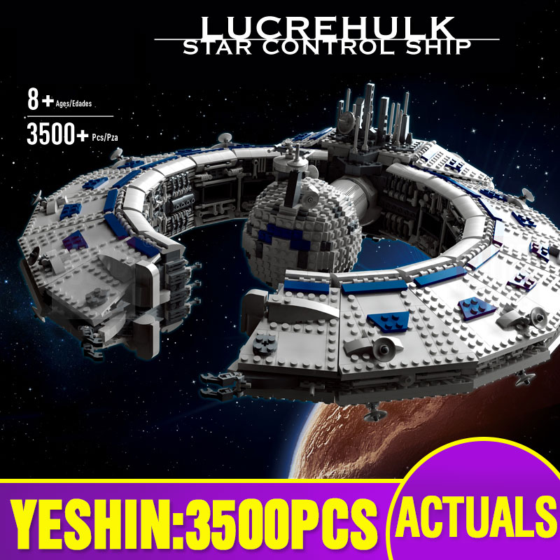 Star Toys Wars Compatible With Lepining MOC-13056 Class Battleship (Droid Control Ship) Building Blocks Kids Christmas Toys Gift