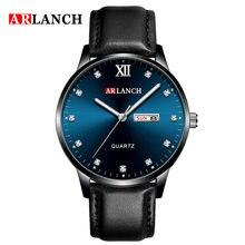Новинка 2020 деловые повседневные кварцевые мужские часы модные