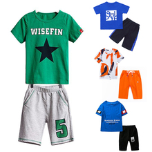 Boy T-Shirt Outfit Pant-Set Short-Sleeve Childrens'-Suit Baby-Boys Casual High-Quality