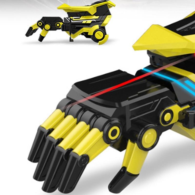 Deformación inteligente juguete eléctrico ráfaga juguete para niños brazo Robot - 6