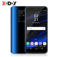 """XGODY 3G Celular Smartphone Compagno di 30 Mini Android 9.0 5.5 """"18:9 1GB 4GB MTK6580 Quad Core 5MP Wi-Fi 2200mAh Dual Sim Del Telefono Mobile"""