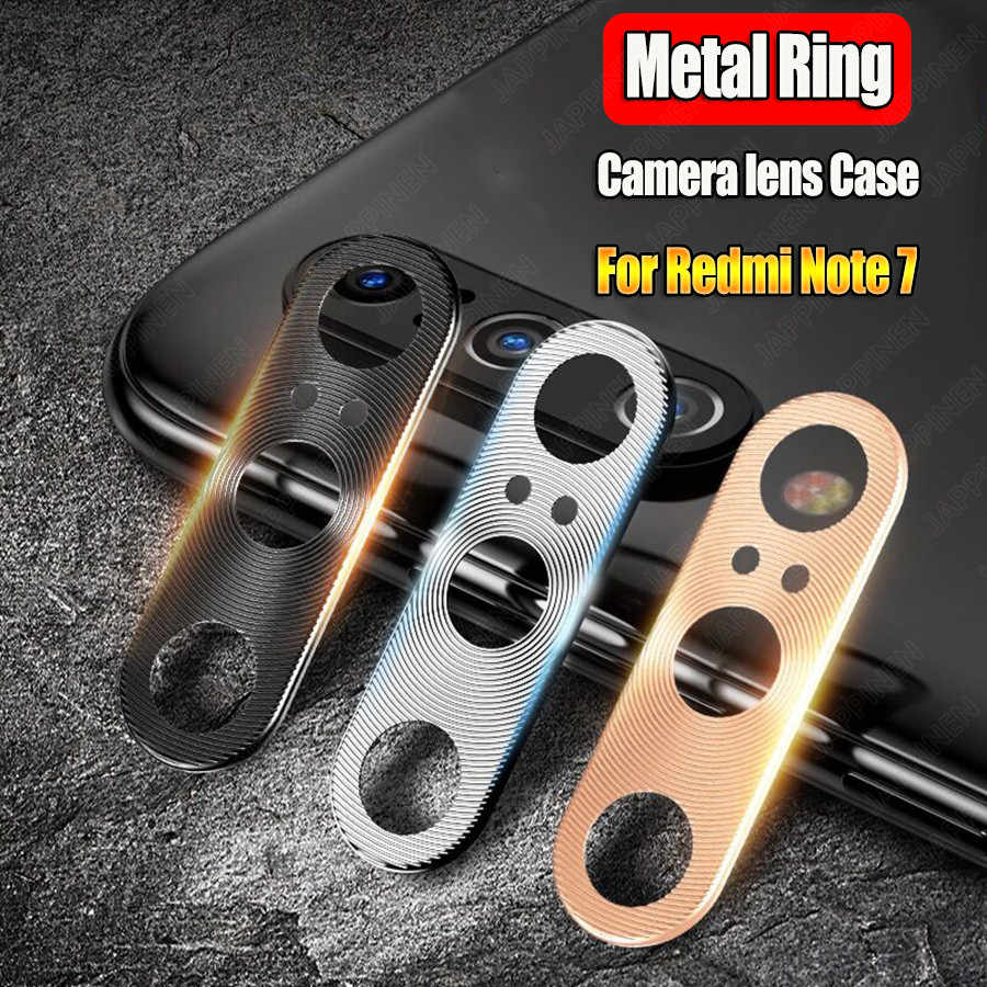 Camera Lens Protective Metal Ring For Xiaomi Redmi Note 8 7 K20 Pro Mi 9T 9 8 SE A2 Mix 3 Back Camera Lens Protector Cover Case