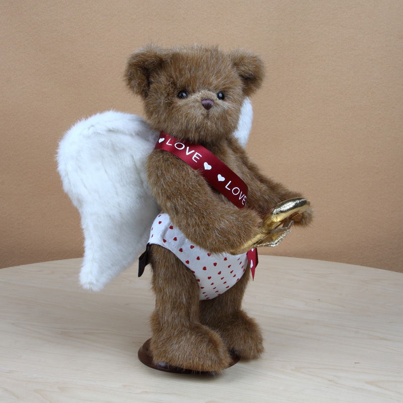 Cupid Plush Teddy Bear Toy Stuffed Teddy Bear With Joints Can Move Angel Wings Plush Toys Gift Of Love For Girl Home Decor