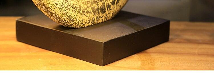 C modélisation Dragon résine Sculpture chambre lampe de Table lampe de chevet rétro salon Table lumière pour éclairage intérieur décoratif - 5